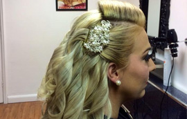 Wedding Hair in Ashington